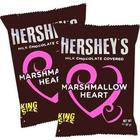 King Size Valentine Marshmallow and Chocolate Hearts