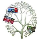 Silver Tree Card Holder Metal Wall Decor