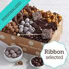 Chocolate Bliss Gift Box with Personalized Ribbon