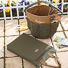 Embroidered Garden Tool Bag & Kneeling Pad