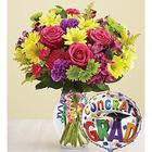 It's Your Day Graduation Bouquet