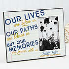 Memories are Forever Personalized Graduation Frame