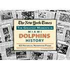 Miami Dolphins History Newspaper Replica