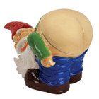 Mooning Gnome Cookie Jar