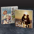 Happy You're My Dad 6x6 Bamboo Photo Art