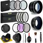 Professional 58-MM Lens & Filter Bundle for Canon Camera