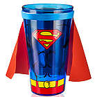 Superhero Pint Glasses with Capes