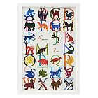The Animal Alphabet Zoo Interactive Poster