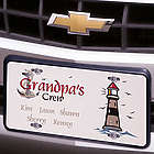 Grandpa's Crew License Plate