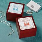 Personalized Communion Memories Tile Keepsake Box
