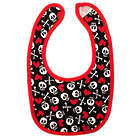 Too Cool for Drool Skull Rocker Bib
