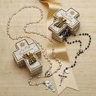 Personalized My First Communion Rosary Set