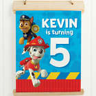 Paw Patrol Pawesome Birthday Sign