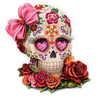 Lady Amora Sugar Skull Art Figurine
