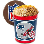 New England Patriots 3 Gallon Popcorn Gift Tin