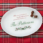 Personalized Christmas Blessings Platter