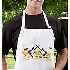 Personalized Rockin' The Grill Guitar BBQ Apron