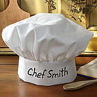 You Name It Personalized Chef Hat
