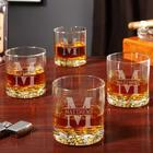 Oakmont Personalized Buckman Whiskey Glasses
