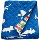Catnap Cat Print Quilted Throw
