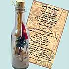 Palm Paradise Bottle Invitation/Beach Party Favor