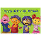 Personalized Sid the Science & Friends Happy Birthday Placemat