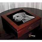 Wooden Personalized Keepsake Photo Box
