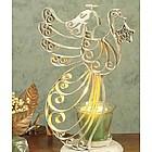 Yuletide Angel Luminary Candle Holder