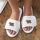Women's Bath Time Personalized Terry Slippers