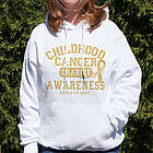 Childhood Cancer Awareness Athletic Dept. Hooded Sweatshirt