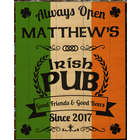 Large Good Friends Personalized Irish Pub Sign