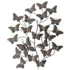 Tree of Butterflies Iron Wall Sculpture