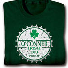 Irish 100 Proof Personalized T-Shirt