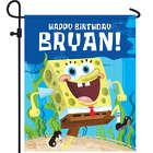 Personalized Spongebob SquarePants Birthday Yard Sign