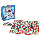 1960s Chutes and Ladders Nostalgia Board Game Tin