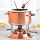 3-in-1 Copper-Plated Fondue Set