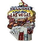 Las Vegas Personalized Christmas Ornament