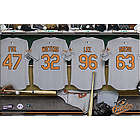 Personalized Baltimore Orioles Locker Room Canvas