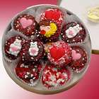 Valentine's Day Double Dipped Decorated Oreo Cookies Gift Tin