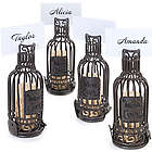 Wine Bottle Cork Cage Place Card Holders