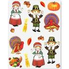 Pilgrim and Turkey Stickers