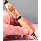 Celtic Cross Engraved Handmade Pen
