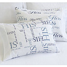 His & Hers Standard Pillowcase Set