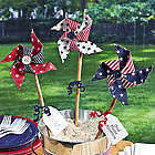 Decorative Patriotic Pinwheels