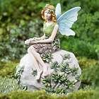 Sitting Fairy Garden Statue and Key Hider