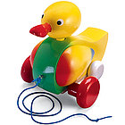 Quackers the Duck Pull Toy