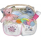 Welcome Twins! Baby Gift Basket