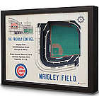 Wrigley Field Baseball Stadium Art