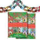 2 Packs of Holiday Paper Chain Decorations