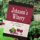 Personalized Winery House Flag